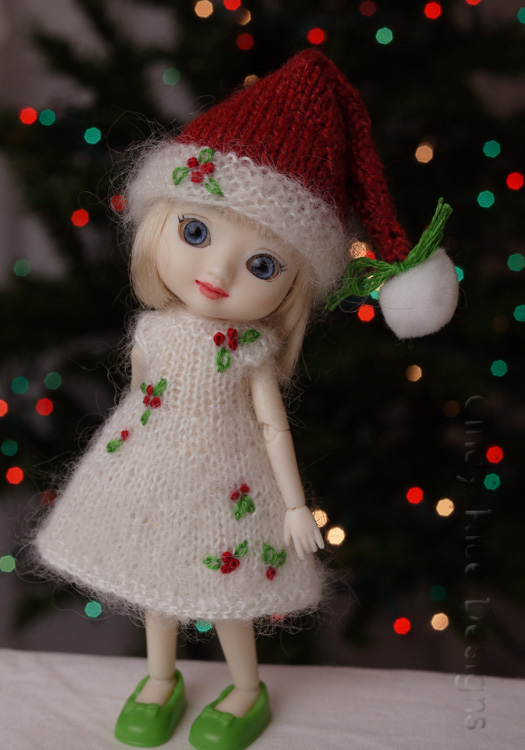 tiny holly elf 623