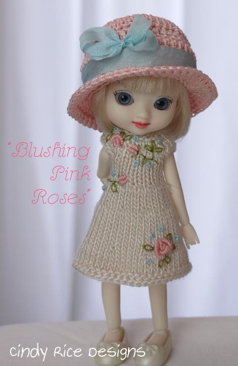 blushing pink roses 249