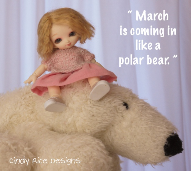 march is coming in like a polar bear 609