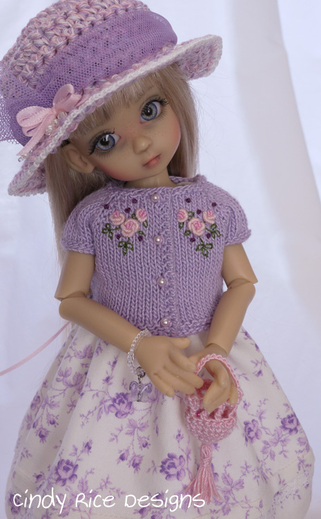 little lady in lilac 235