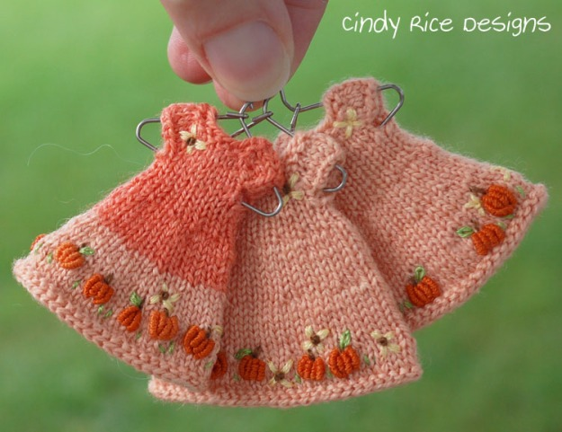3 pumpkin dresses 961