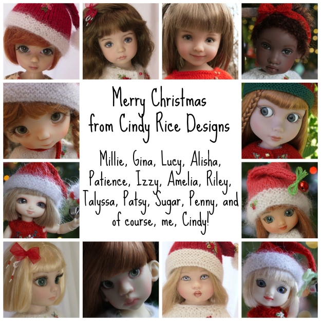 Merry Christmas Collage