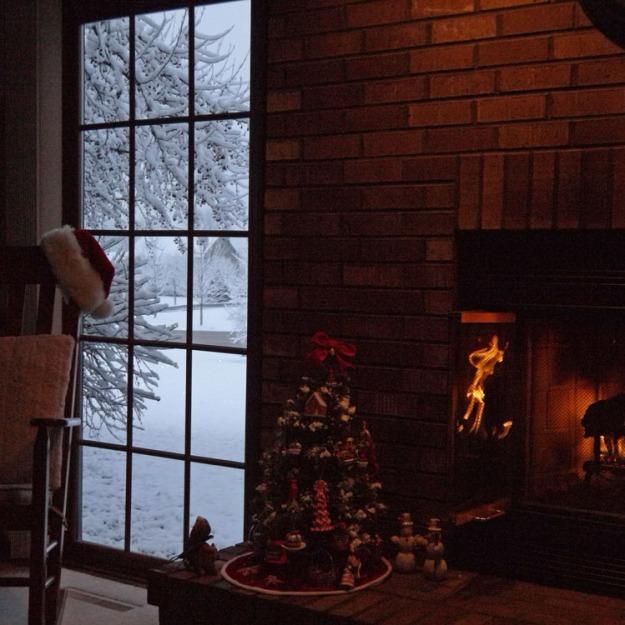 morning snow 932