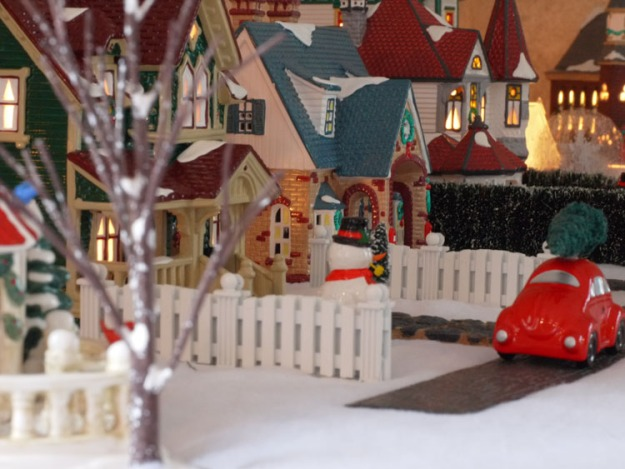 snow village 303