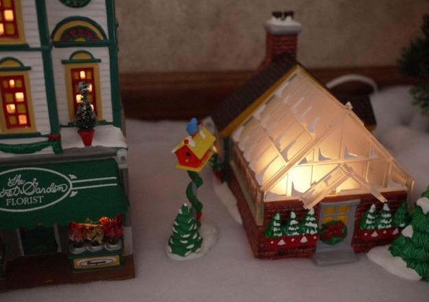 snow village 438