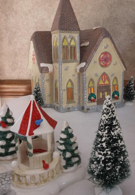 snow village 444