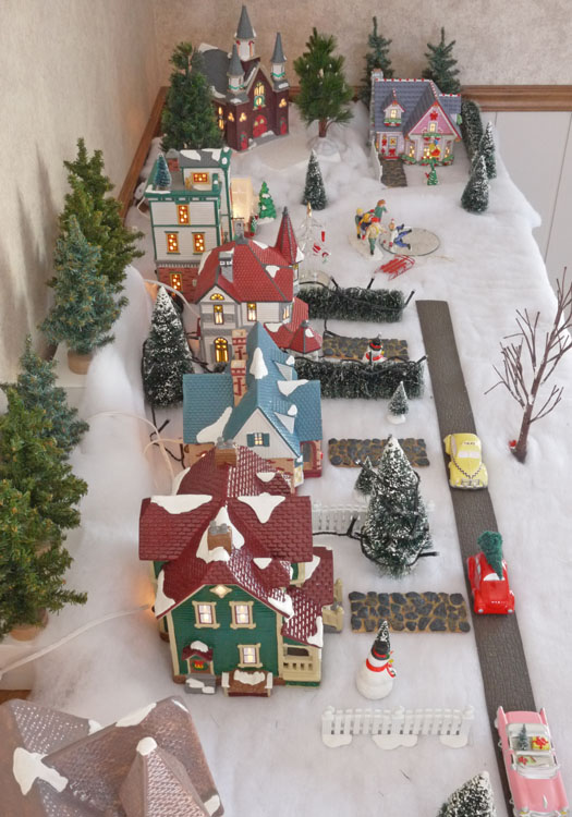 snow village 466