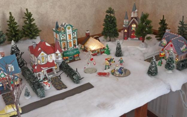 snow village 468