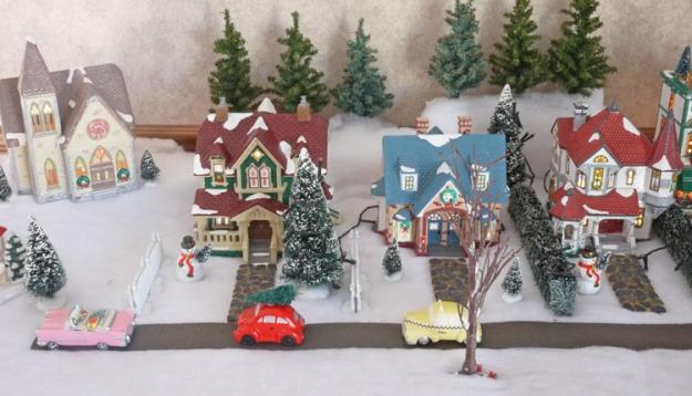 snow village 469