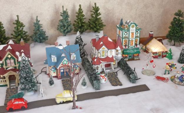snow village 470