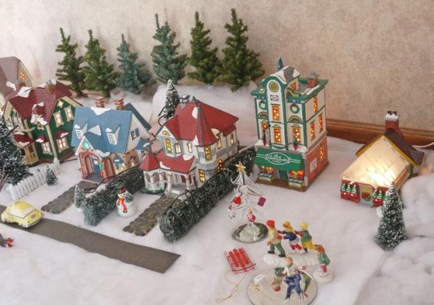snow village 475