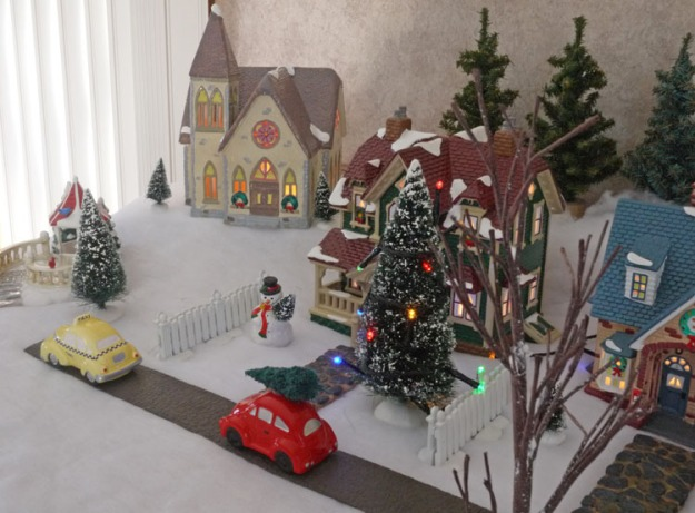 snow village 485