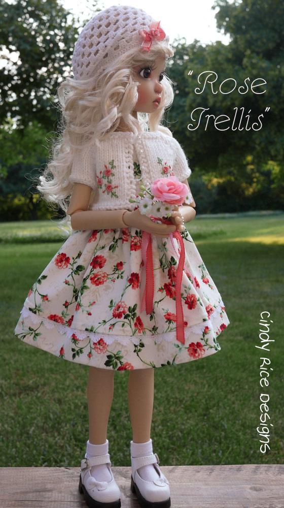 rose trellis 261