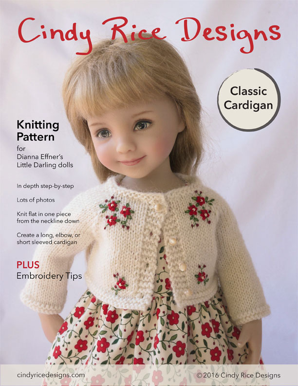 Little Darlings Knitting Pattern Cindy Rice Designs
