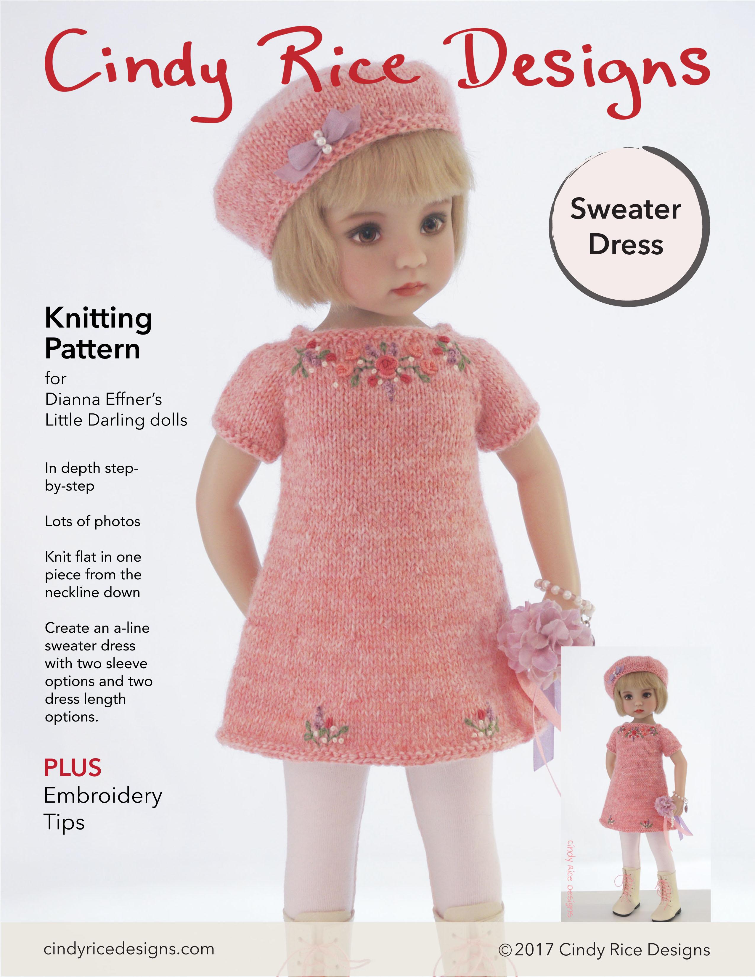 New Knitting Pattern   Cindy Rice Designs