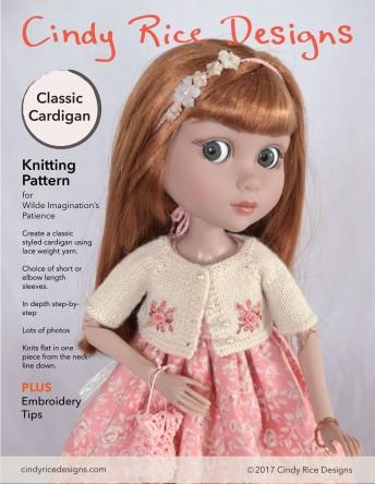 Patsy light cardigan pattern p1