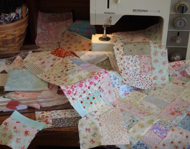 scrappy quilt b 134