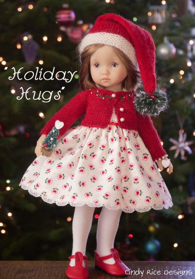 holiday hugs boneka effner doll clothes 269