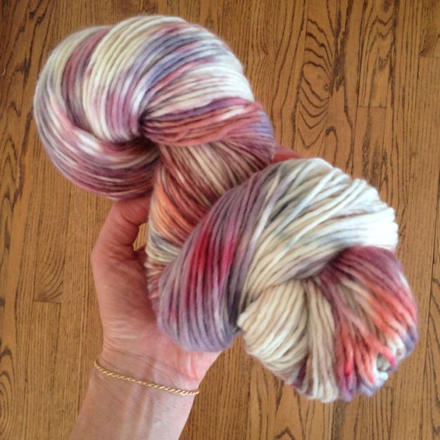 dyeing merino singles yarn 3785