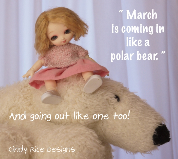 march is coming in like a polar bear 609 copy