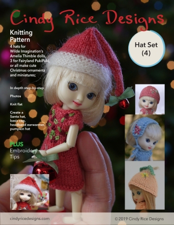 Amelia Thimble hat set single pg cover
