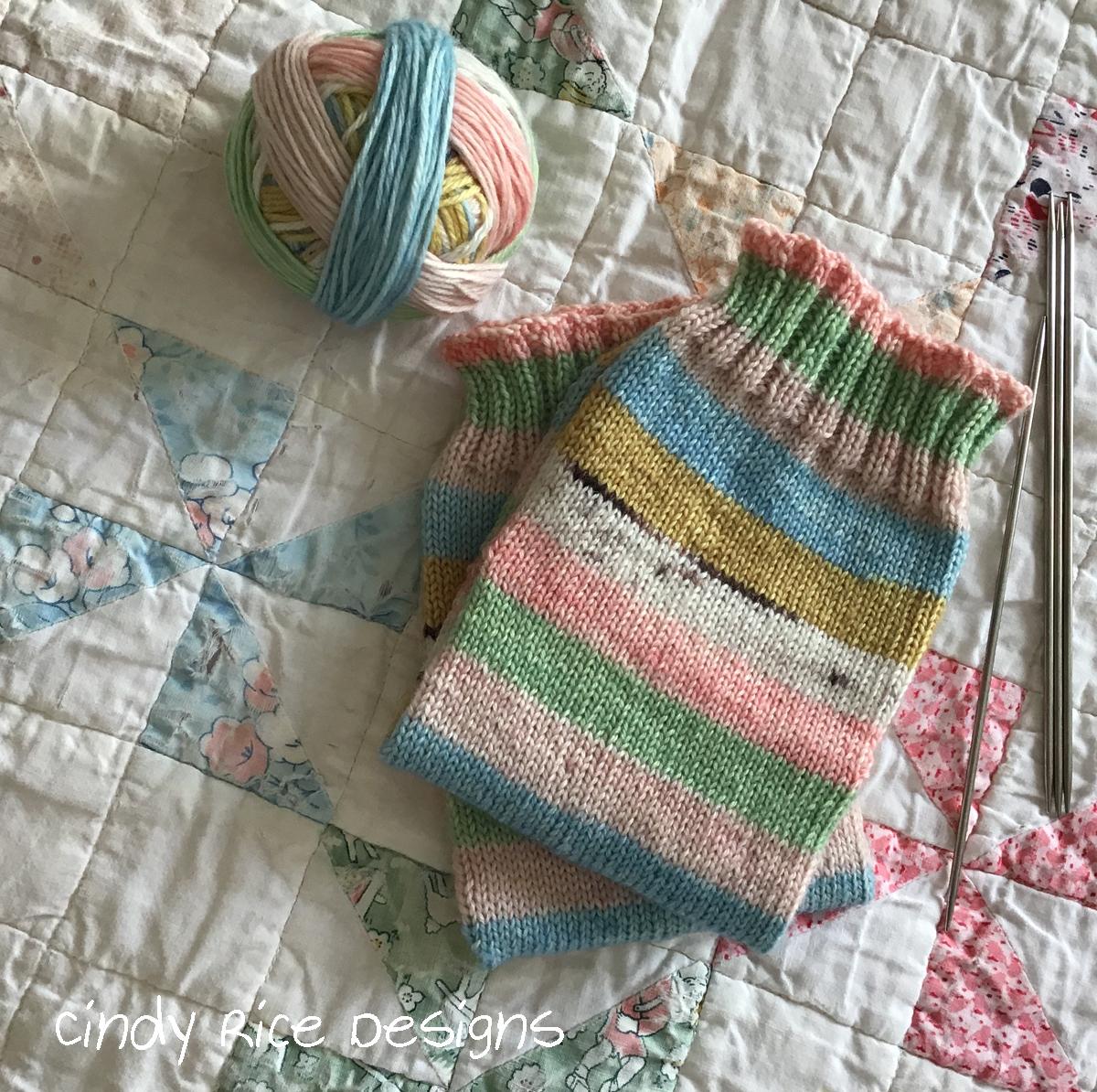 socks self striping 0685