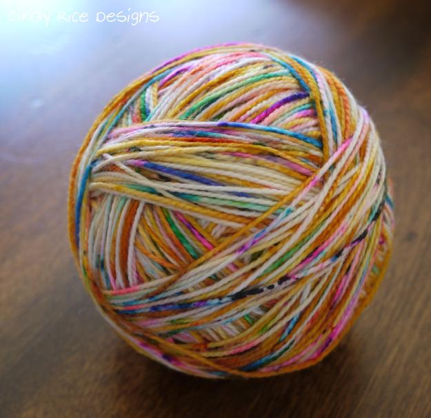 yarn for socks spun right round 623