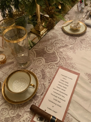2019 christmas pabst mansion table menu 4972