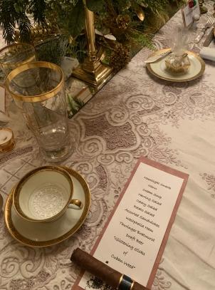 2019 christmas pabst mansion table menu 4972