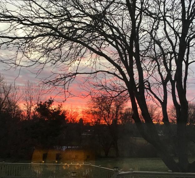 2019 late fall sunset 0931
