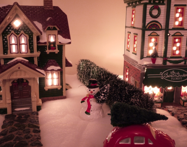 2019 snow village 305