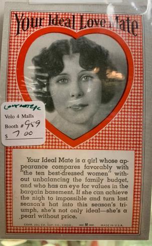 ideal love mate vintage 5045