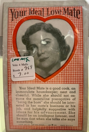 ideal love mate vintage 5049