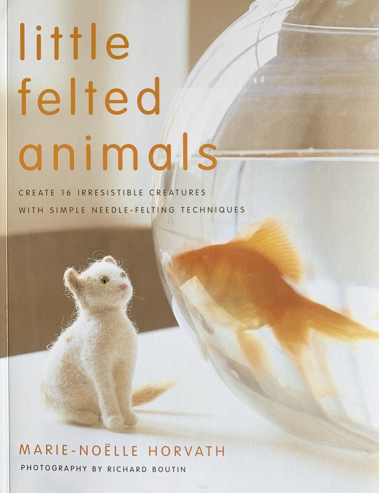 book little felt animals 5439