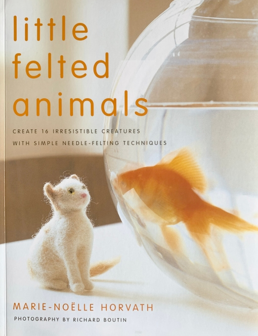 book little felt animals 5439