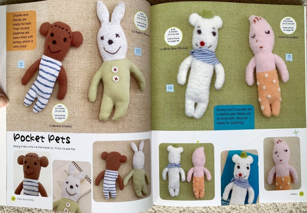 book palm size softies 5452