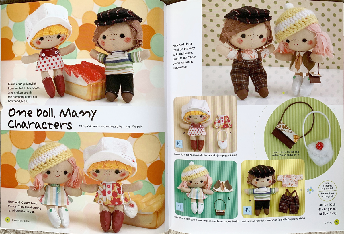 book palm size softies 5453