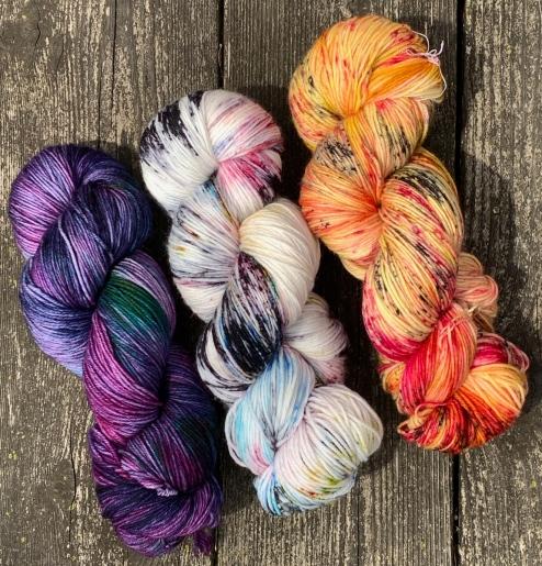 hand dyed yarn 5606