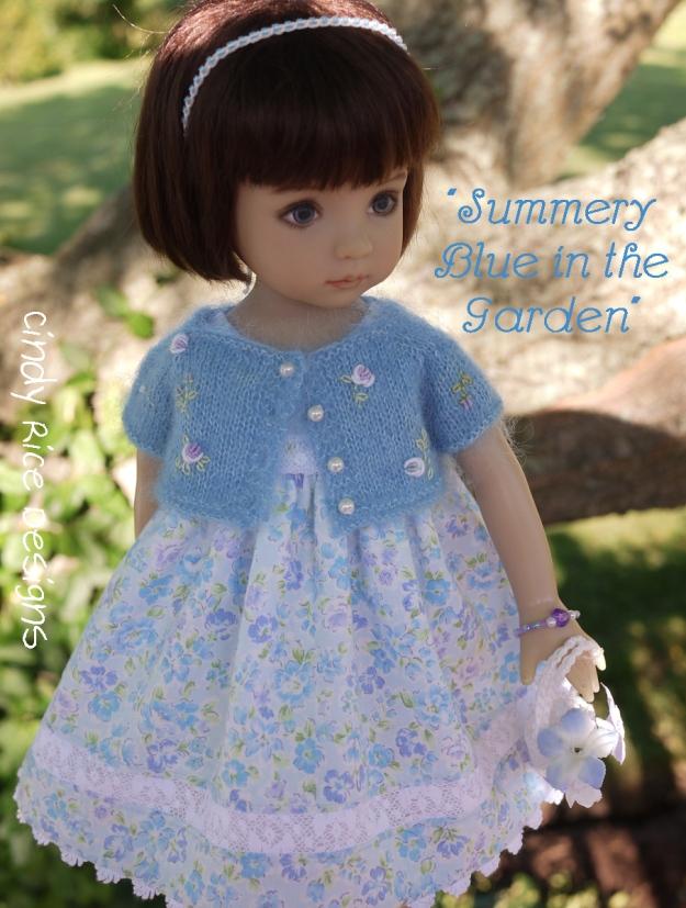 summery blue in the garden 599